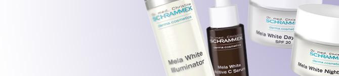 Mela White skin care